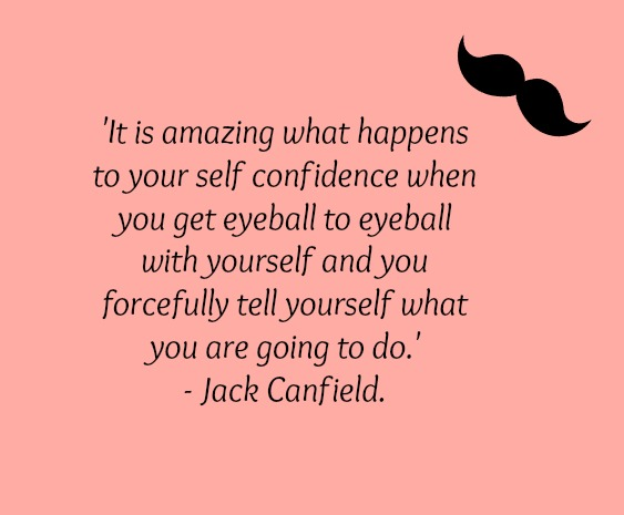 Sometimes all it takes is telling yourself you can.