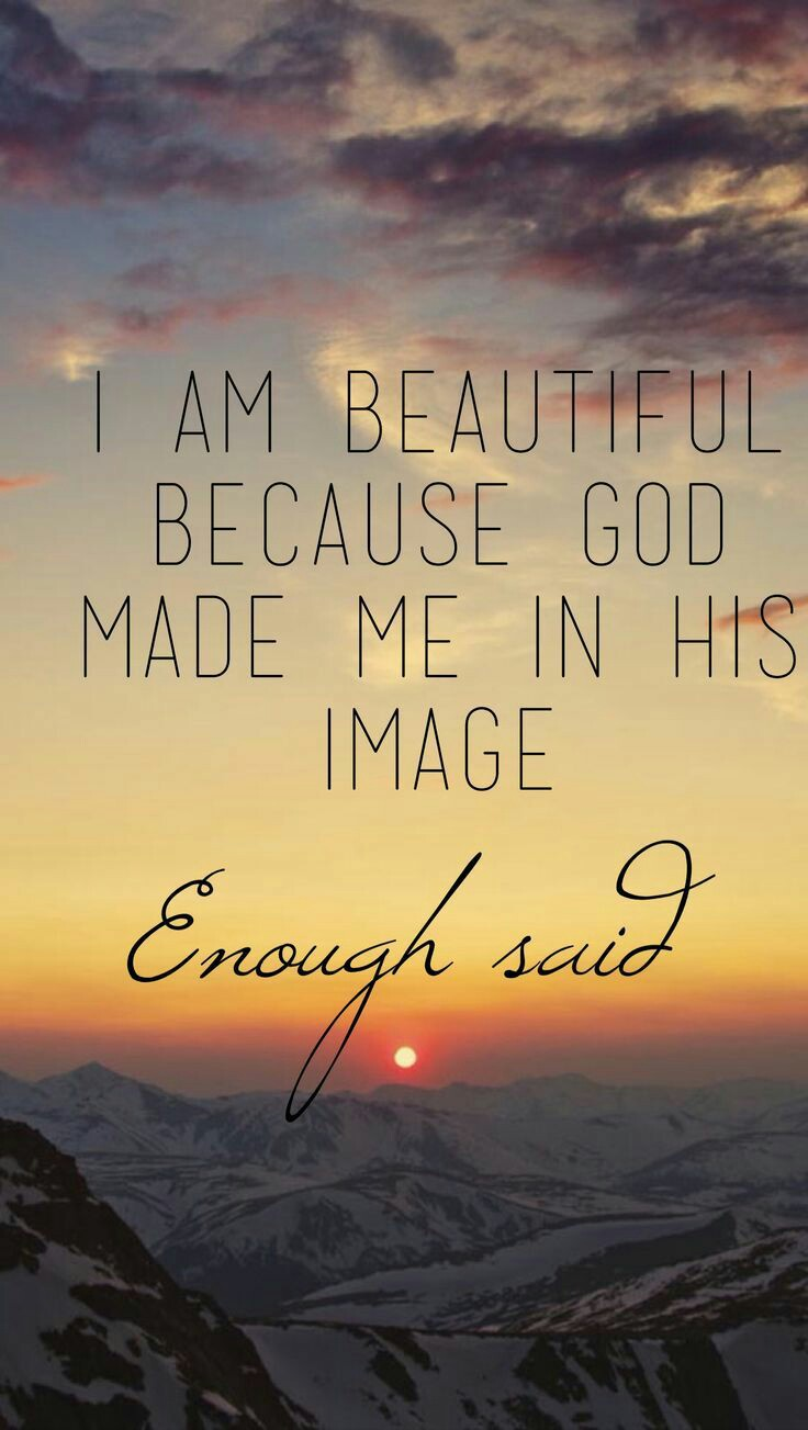 """We are not just a reflection of a beautiful God, We are exactly like Him. How so? you say, since we are all different, """"#smile but it's true."""
